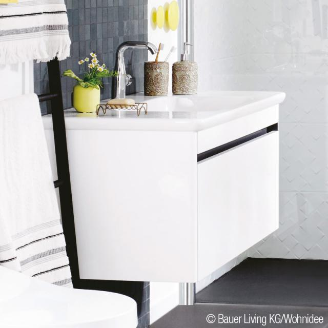Villeroy & Boch Vivia vanity unit with 1 pull-out compartment glossy white