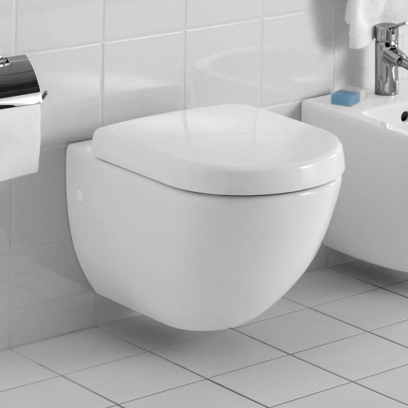 Wondrous Villeroy Boch Subway Wall Mounted Washdown Toilet White Ncnpc Chair Design For Home Ncnpcorg