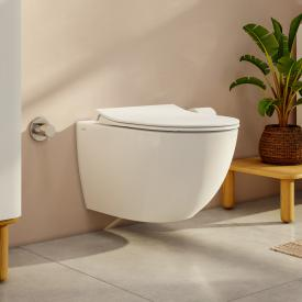 VitrA Aquacare Sento wall-mounted washdown toilet set with bidet function, with toilet seat