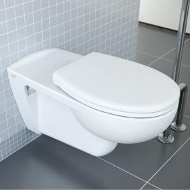 VitrA Conforma wall-mounted washdown toilet with flushing rim, white