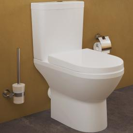 VitrA Integra VitrAflush 2.0 floorstanding close-coupled washdown toilet, open back white