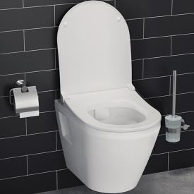 VitrA Integra wall-mounted washdown toilet rimless, white, with VitrAclean