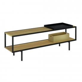 VitrA Memoria Elements cloakroom bench oak/matt black