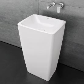 VitrA Metropole monobloc washbasin white, with VitrAclean