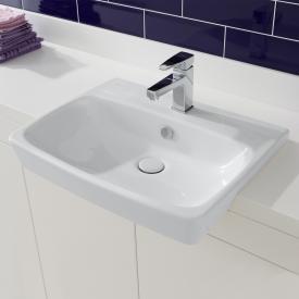 VitrA Metropole semi-recessed washbasin white
