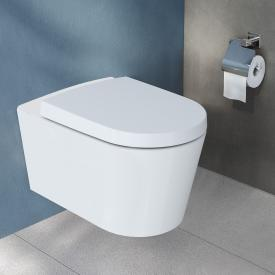 VitrA Options Nest wall-mounted, washdown toilet VitrAflush 2.0, rimless with bidet function white, with VitrAclean