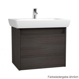 VitrA S20 vanity unit with 1 pull-out compartment front hacienda black decor / corpus hacienda black decor
