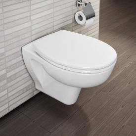 VitrA S20 wall-mounted, washdown toilet white, with VitrAclean