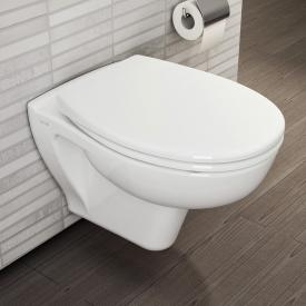 VitrA S20 wall-mounted washdown toilet VitrAflush white, with VitrAclean