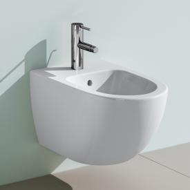 VitrA Sento wall-mounted bidet white, with VitrAclean
