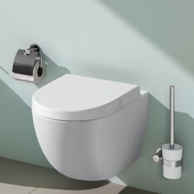 VitrA Sento wall-mounted, washdown toilet with bidet function with flushing rim, white