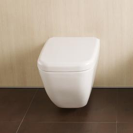 VitrA Shift wall-mounted, washdown toilet with bidet function white