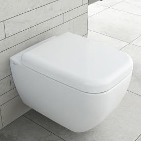 VitrA Shift wall-mounted, washdown toilet,  VitrAflush 2.0 white, with VitrAclean