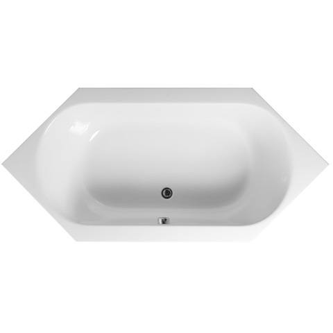 VitrA S50 hexagonal bath