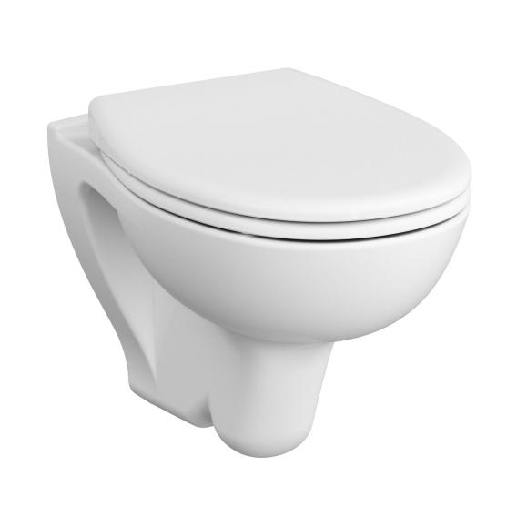 VitrA S20 wall-mounted, washdown toilet with bidet function white, with VitrAclean