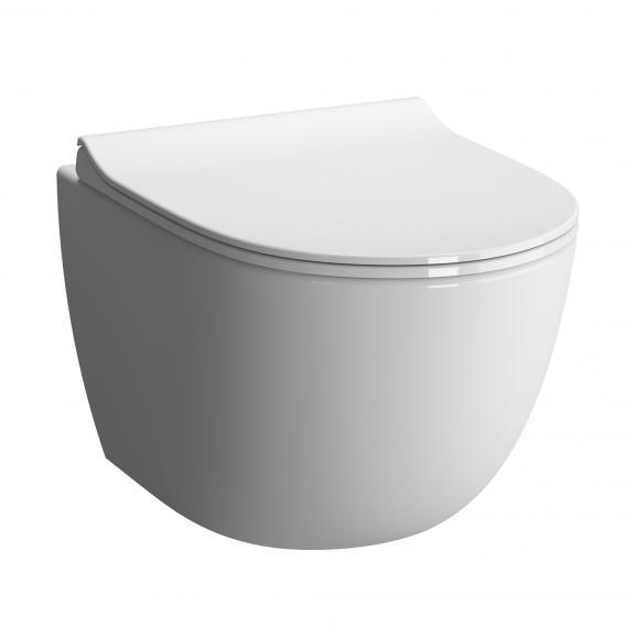 VitrA Sento wall-mounted, washdown toilet Compact VitrAflush 2.0, with bidet function white