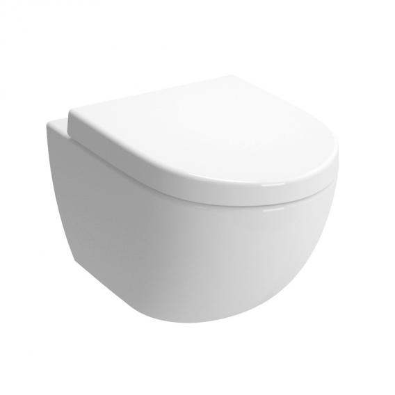 VitrA Sento wall-mounted, washdown toilet white, with VitrAclean