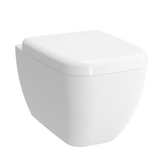 VitrA Shift wall-mounted, washdown toilet rimless, white, with VitrAclean