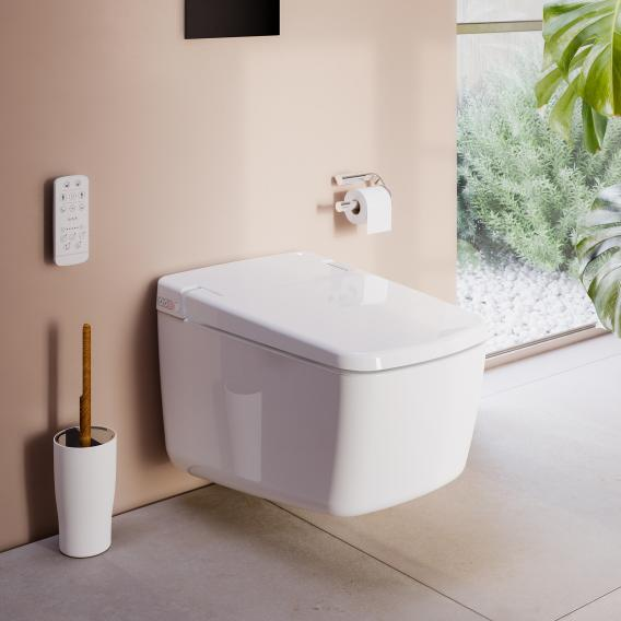VitrA V-Care Prime wall-mounted shower toilet with toilet seat