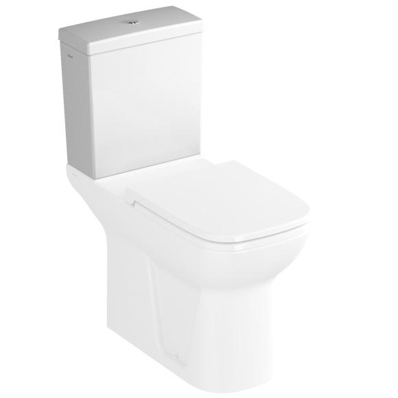 VitrA Integra ceramic close-coupled cistern