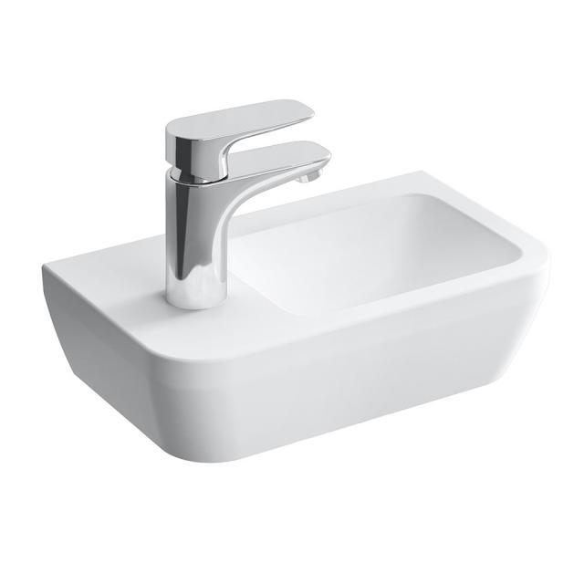 VitrA Integra Compact hand washbasin white, with 1 tap hole