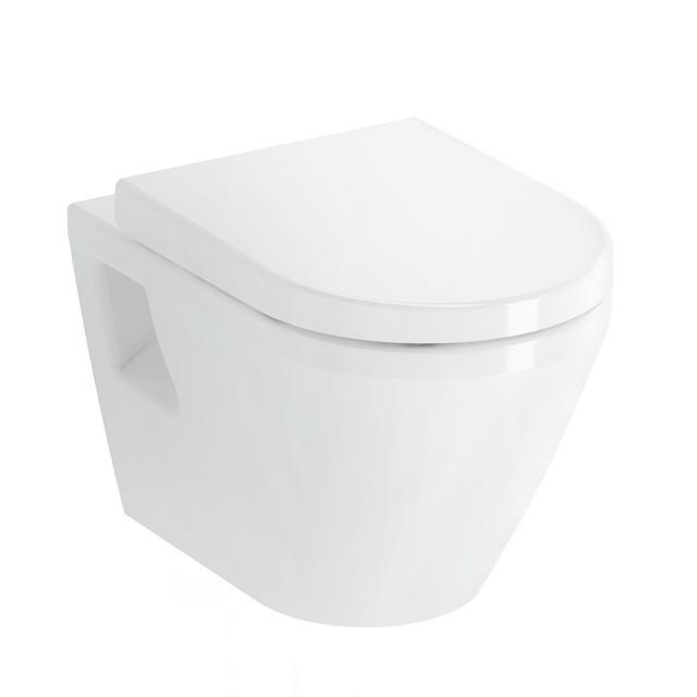 VitrA Integra wall-mounted washdown toilet with bidet function with flush rim, white