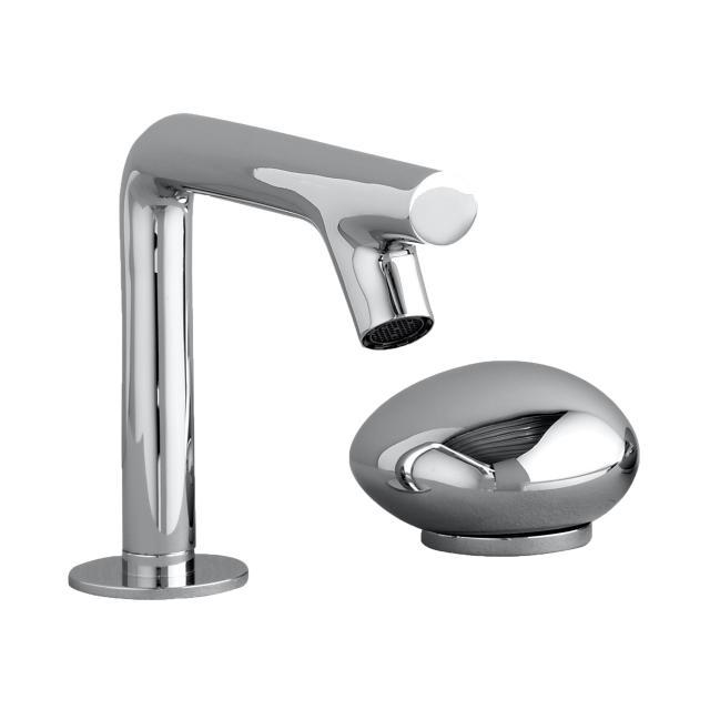 VitrA Istanbul two hole, single lever basin fitting, without pop-up waste set