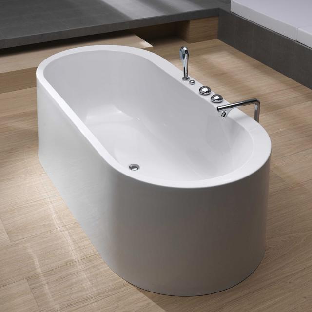 VitrA Istanbul wall freestanding oval bath