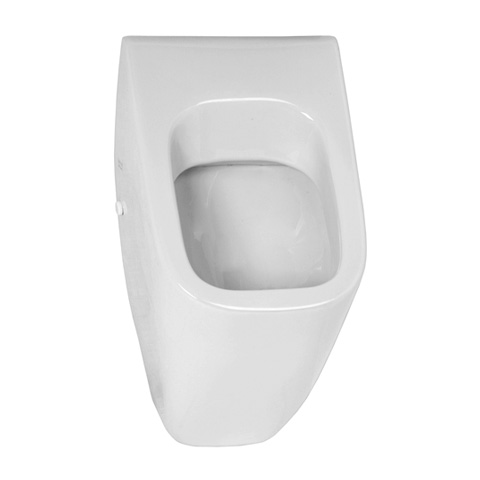 VitrA Options Pure Style urinal, rear supply white, with VitrAhygiene, without lid mounting