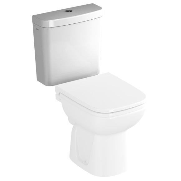 VitrA S20 ceramic close-coupled cistern