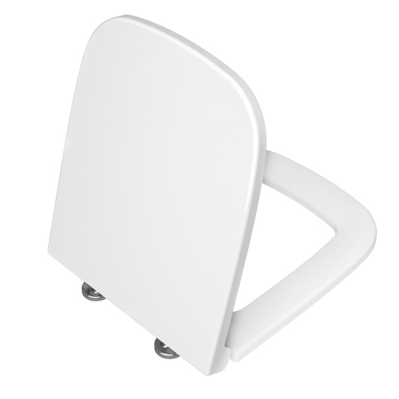 VitrA S20 toilet seat, square inner shape with soft-close & removable