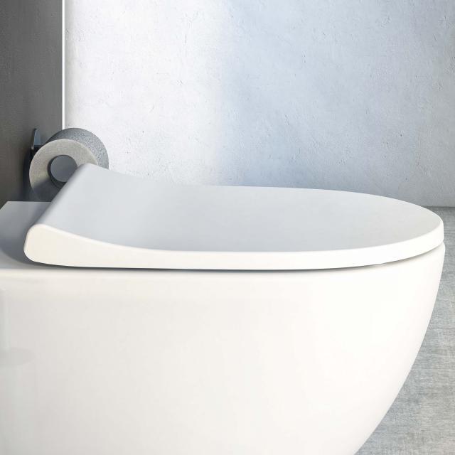 VitrA Sento toilet seat Slim Wrap, with soft-close & removable white