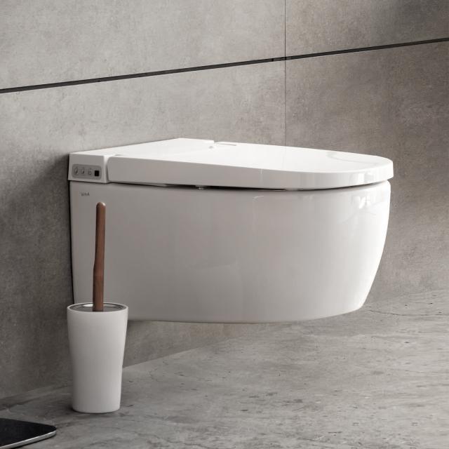 VitrA V-care 1.1 Basic shower toilet, with toilet seat