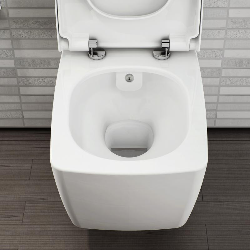 Vitra Metropole Wall Mounted Washdown Toilet With Bidet Function