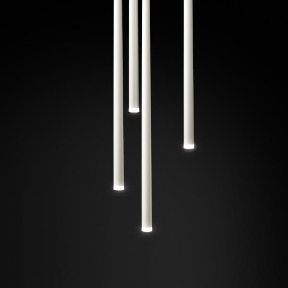 Vibia Slim LED pendant light 1 head, round