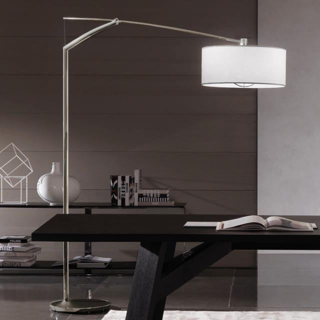 VIBIA Balance floor/arch lamp with dimmer
