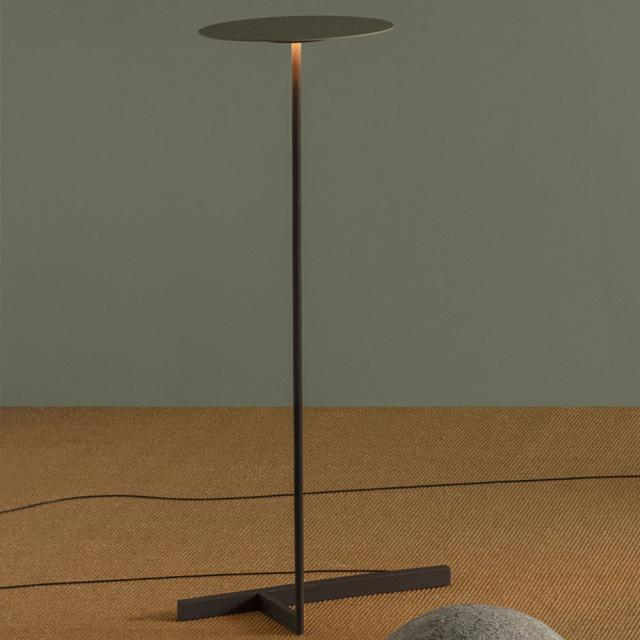 VIBIA Flat LED floor lamp with dimmer