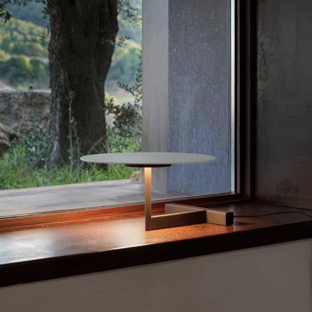 VIBIA Flat LED table lamp with dimmer