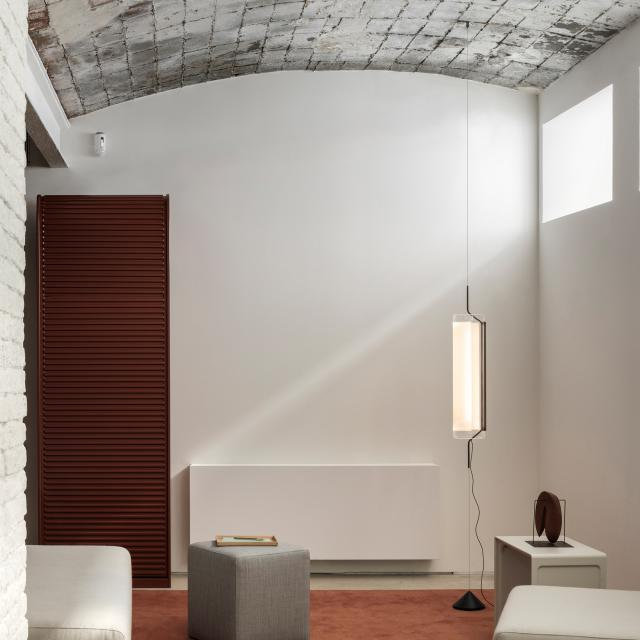 VIBIA Guise LED floor lamp with dimmer and supply line