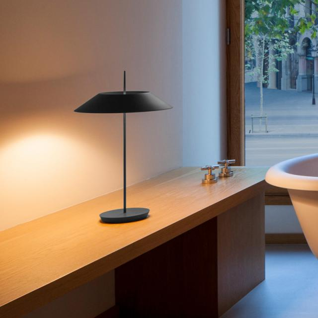 VIBIA Mayfair LED table lamp with dimmer