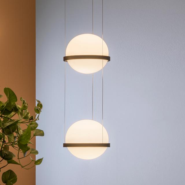 VIBIA Palma LED pendant light 2 heads