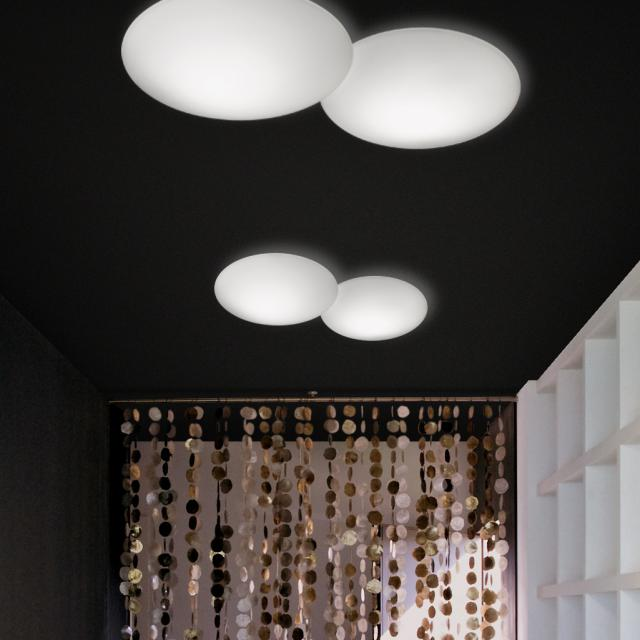 VIBIA Puck ceiling light, 2 heads