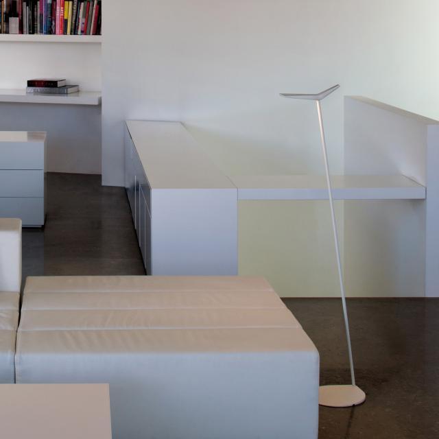 VIBIA Skan LED floor lamp/reading lamp with dimmer