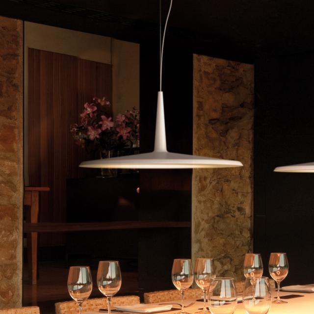 VIBIA Skan LED pendant light 1 head, large