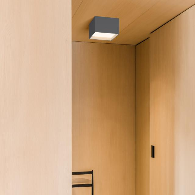 VIBIA Structural LED ceiling light 1 head, square