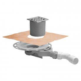 Viega Advantix bathroom drain 45°, horizontal