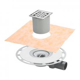 Viega Advantix bathroom drain, extra-flat model