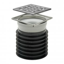 Viega Advantix insertable drain, without sealing flange L: 10 W: 10 cm