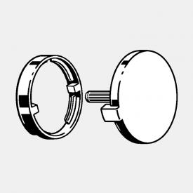 Viega Universal rotating escutcheon for waste set