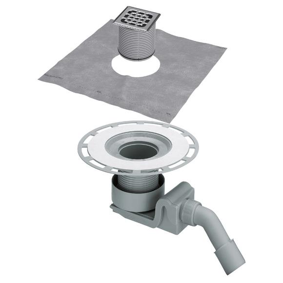 Viega Advantix bathroom drain 45°